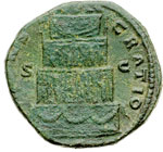 reverse:  Marco Aurelio (161-180) Sesterzio.