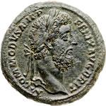 obverse:  Commodo (177-192) Sesterzio.