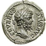 obverse:  Settimio Severo (193-211). Denario