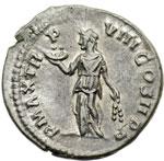 reverse:  Settimio Severo (193-211) Denario.