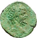 obverse:  Settimio Severo (193-211). Sesterzio