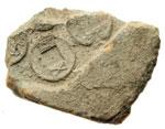 obverse:  Cina   Frammento di matrice in terracotta per la realizzazione di stampi di monete wu-chu (I-III sec. d.C.).