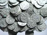 obverse:  India  Ohind Lotto di 113 dracme, 750-1000 d.C.