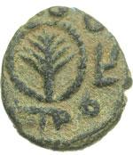 obverse:  Omayyadi   Fals, al-Ramla.