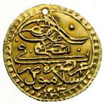 obverse:  Impero Ottomano  Selim III (1203-1222 a.H., 1789-1807) Zeri mahabub, 1203/19 a.H.