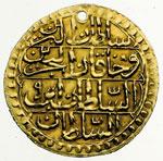 reverse:  Impero Ottomano  Selim III (1203-1222 a.H., 1789-1807) Zeri mahabub, 1203/19 a.H.