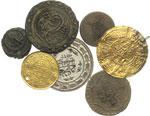 obverse:  Impero Ottomano   Lotto di 7 monete da classificare: 2 AU, 1 MI, 4 AE.