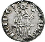 obverse:  Cipro  Henri II (1285-1324) Grosso