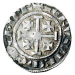 reverse:  Cipro  Henri II (1285-1324) Grosso