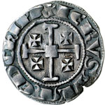 reverse:  Cipro  Hugues IV (1324-1359) Grosso