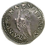 reverse:  Ancona  Giulio III (1550-1555) Giulio.