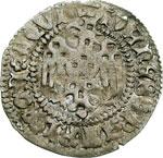 obverse:  Aquileia  Giovanni di Moravia (1387-1394) Denaro.