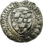 obverse:  Aquileia  Ludovico II (1412-1420) Denaro