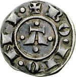 obverse:  Bologna  Repubblica - a nome di Enrico VI Imperatore (1191-1337) Bolognino grosso.