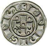 reverse:  Bologna  Repubblica - a nome di Enrico VI Imperatore (1191-1337) Bolognino grosso.