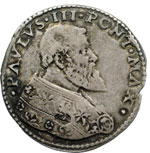 obverse:  Bologna  Paolo III (1534-1549) Bianco