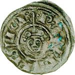 reverse:  Brindisi  Federico II (1197-1250) Mezzo denaro 1239