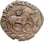 reverse:  Brindisi  Ferdinando I d Aragona (1458-1494) Cavallo.