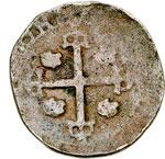 reverse:  Cagliari  Filippo IV di Spagna (1621-1665) Soldo