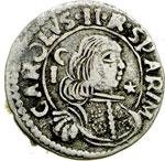 obverse:  Cagliari  Carlo II (1665-1700) Reale 1690.
