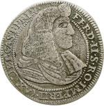 obverse:  Castiglione delle Stiviere  Ferdinando II Gonzaga (1680-1723) 25 soldi.