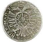 reverse:  Castiglione delle Stiviere  Ferdinando II Gonzaga (1680-1723) 25 soldi.