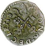 reverse:  Desana  Agostino Tizzone (1559-1582) Quattrino.
