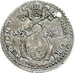 obverse:  Fano  Gregorio XIII (1572-1585) Giulio