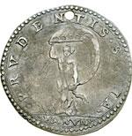 reverse:  Fano  Gregorio XIII (1572-1585) Giulio