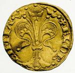 obverse:  Firenze   Fiorino, Neri di Cambio, II semestre 1304.