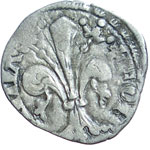 reverse:  Firenze  Repubblica (1189-1532) Soldino da 12 denari.