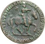 reverse:  Firenze  Niccolò Orsini (1442-1510), Comandate  Medaglia
