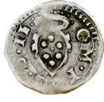 obverse:  Firenze  Cosimo I de  Medici (1557-1569) Picciolo