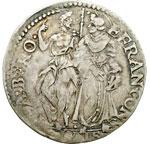reverse:  Firenze  Francesco I de  Medici (1574-1587) Giulio 1574.
