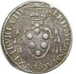 obverse:  Firenze  Ferdinando I de  Medici (1595-1608) Giulio 1588