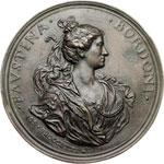 obverse:  Firenze  Faustina Bordoni (1700-1781) Soprano Medaglia celebrativa