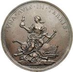 reverse:  Firenze  Faustina Bordoni (1700-1781) Soprano Medaglia celebrativa