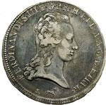 obverse:  Firenze  Ferdinando III di Lorena (1791-1824). Francescone 1798.