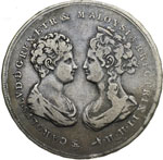 obverse:  Firenze  Carlo Ludovico di Borbone (1803-1807) con la reggenza della madre Maria Luisa. Francescone 1806.