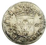 reverse:  Fosdinovo  Maria Maddalena Centurioni Malaspina (1663-1669) Luigino anonimo 1666
