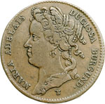 obverse:  Casa Savoia  Maria Adelaide (1685-1712) Gettone 1708
