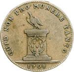 reverse:  Casa Savoia  Maria Adelaide (1685-1712) Gettone 1708