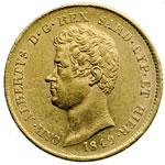 obverse:  Carlo Alberto (1831-1849) 20 lire 1849 G