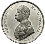 obverse:  Umberto I (1878-1900) Medaglia 1884 per l esposizione generale italiana di Torino.