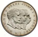 obverse:  Prussia  Umberto I (1878-1900) Medaglia 1892, per il V anniversario dell alleanza tra l Impero Austro-Ungarico, la Germania e l Italia.