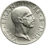 obverse:  Regno di Italia  Vittorio Emanuele III (1900-1946) 50 centesimi 1936 A.XIV