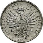 obverse:  Vittorio Emanuele III (1900-1946) 25 centesimi 1903.