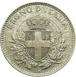 obverse:  Regno di Italia  Vittorio Emanuele III (1900-1946) 20 centesimi 1919 bordo liscio.