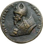 obverse:  S. Ormisda (514-523) Medaglia di restituzione.