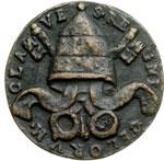reverse:  S. Ormisda (514-523) Medaglia di restituzione.